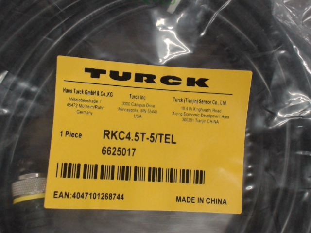 TURCK rkc4-5t-5-tel